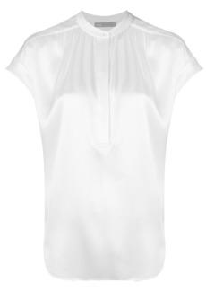 Vince henley blouse - White