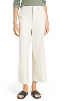 Vince High Waist Crop Trousers