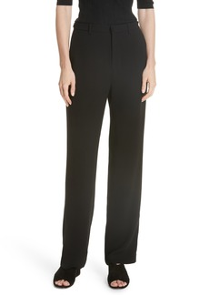 Vince High Waist Straight Leg Pants