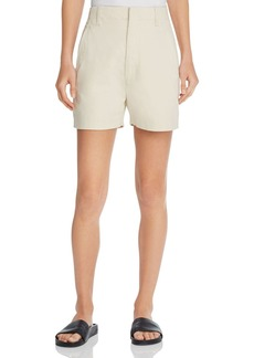 Vince High Waisted Chino Shorts