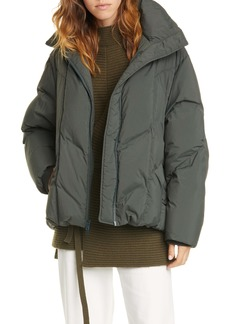 Vince Hooded Down Puffer Jacket