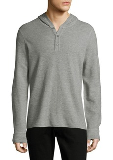 Vince Hooded Henley Top
