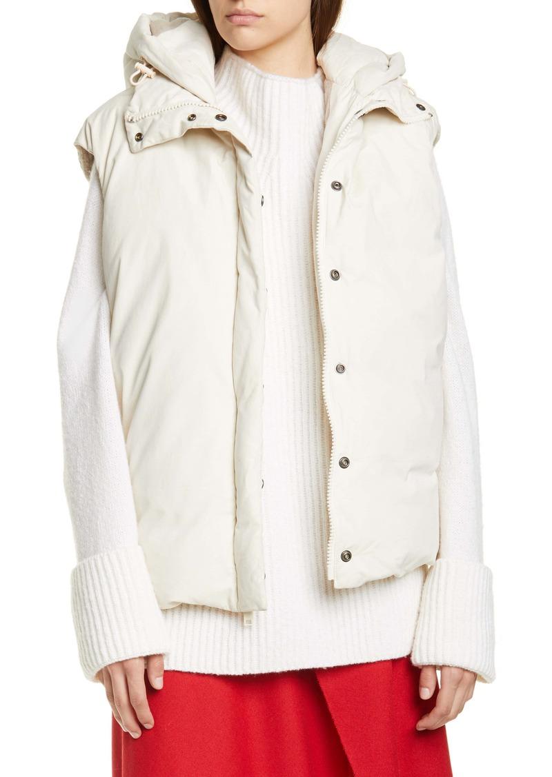 Vince Hooded Puffer Vest