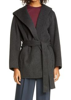 Vince Hooded Wool Blend Coat