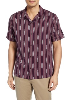 Vince Ikat Cabana Slim Fit Shirt