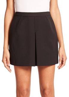 Vince Inverted-Pleat Skirt