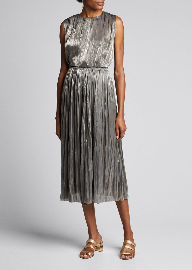 Vince Iridescent Pleated Shell