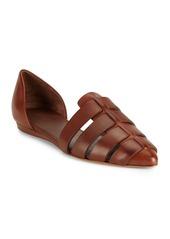 Vince Italian Leather D'Orsay Flats