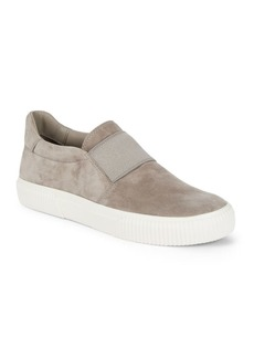 Vince Kirkland Suede Slip-On Sneakers