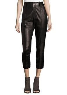 Vince Leather Carrot Pants