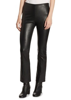 Vince Flared Leather Pants