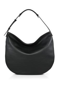 Vince Leather Hobo Bag