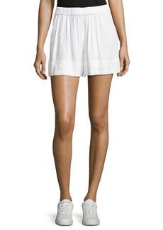 Vince Linen-Blend Pull-On Shorts