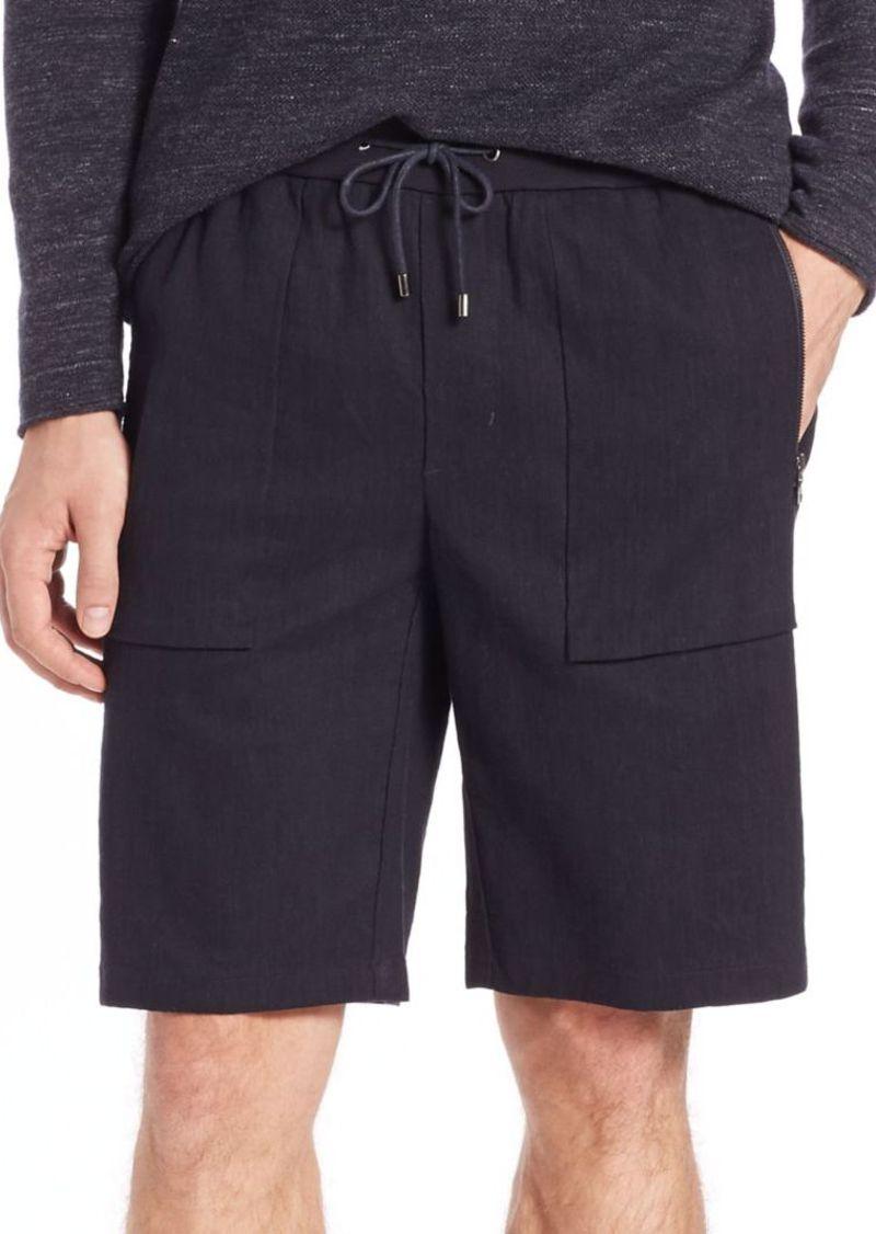 Vince Linen Flight Shorts