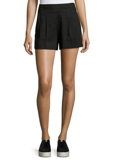 Vince Linen Pull-On Shorts