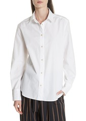 Vince Long Sleeve Cotton Shirt