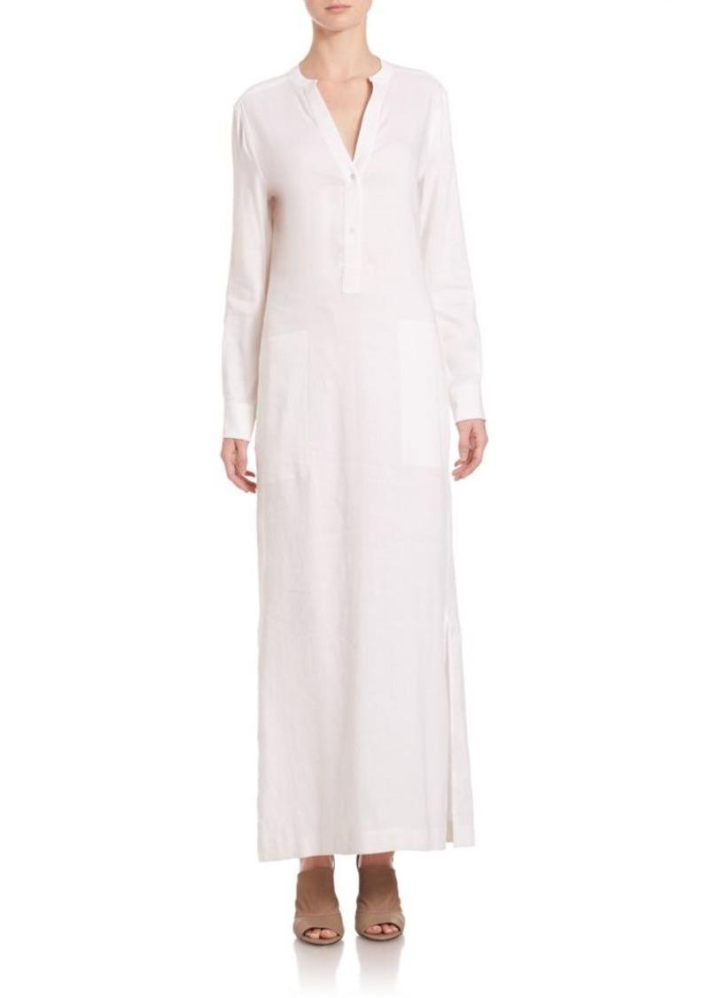 Vince Long Sleeve Maxi Dress
