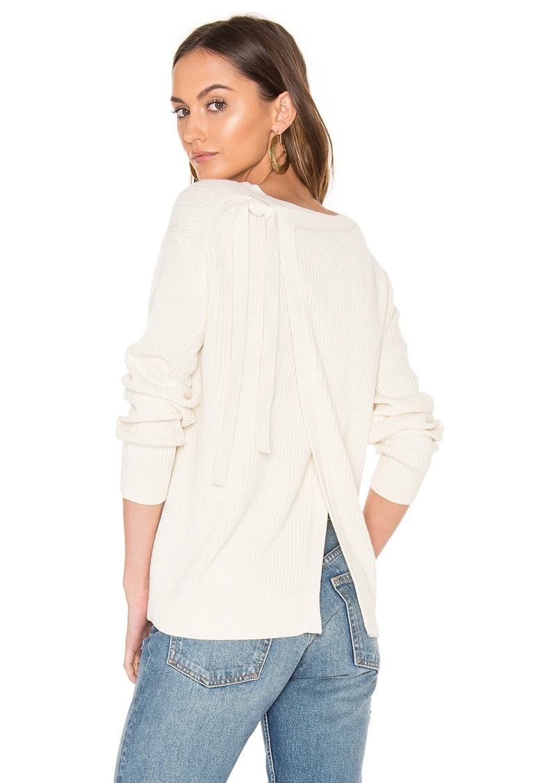 Vince Vince Long Sleeve Slit Back Sweater | Sweaters - Shop It To Me