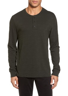 Vince Long Sleeve Slub Henley