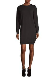 Vince Long-Sleeve Sweater Dress