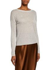Vince Long-Sleeve Sweater Tee