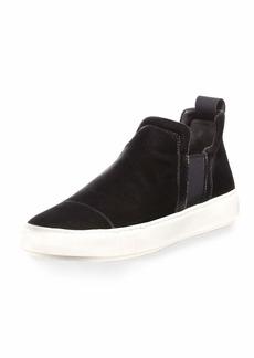 Vince Men's Lucio Velvet Slip-On Sneakers