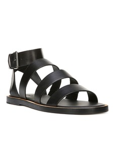 Vince Macey Leather Ankle-Strap Sandals