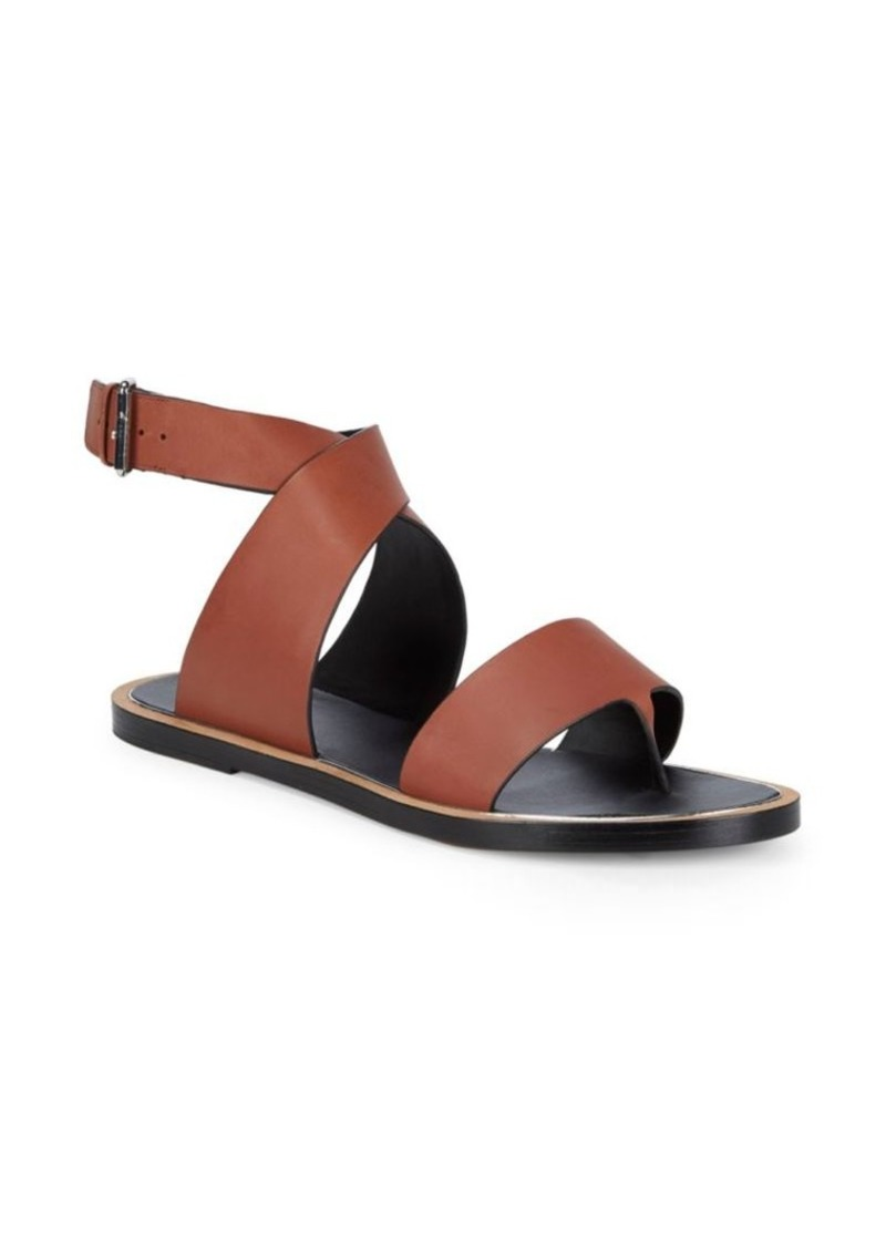 091f754fe Vince Vince Mailin Leather Flat Sandals | Shoes