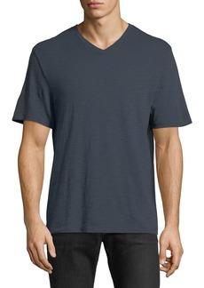 Vince Mallard Classic Slub V-Neck T-Shirt