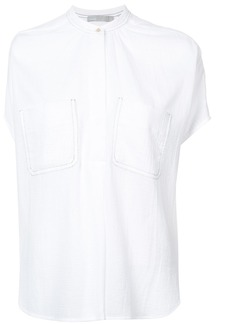 Vince mandarin collar blouse - White