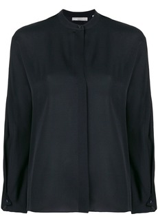 Vince mandarin neck blouse - Blue