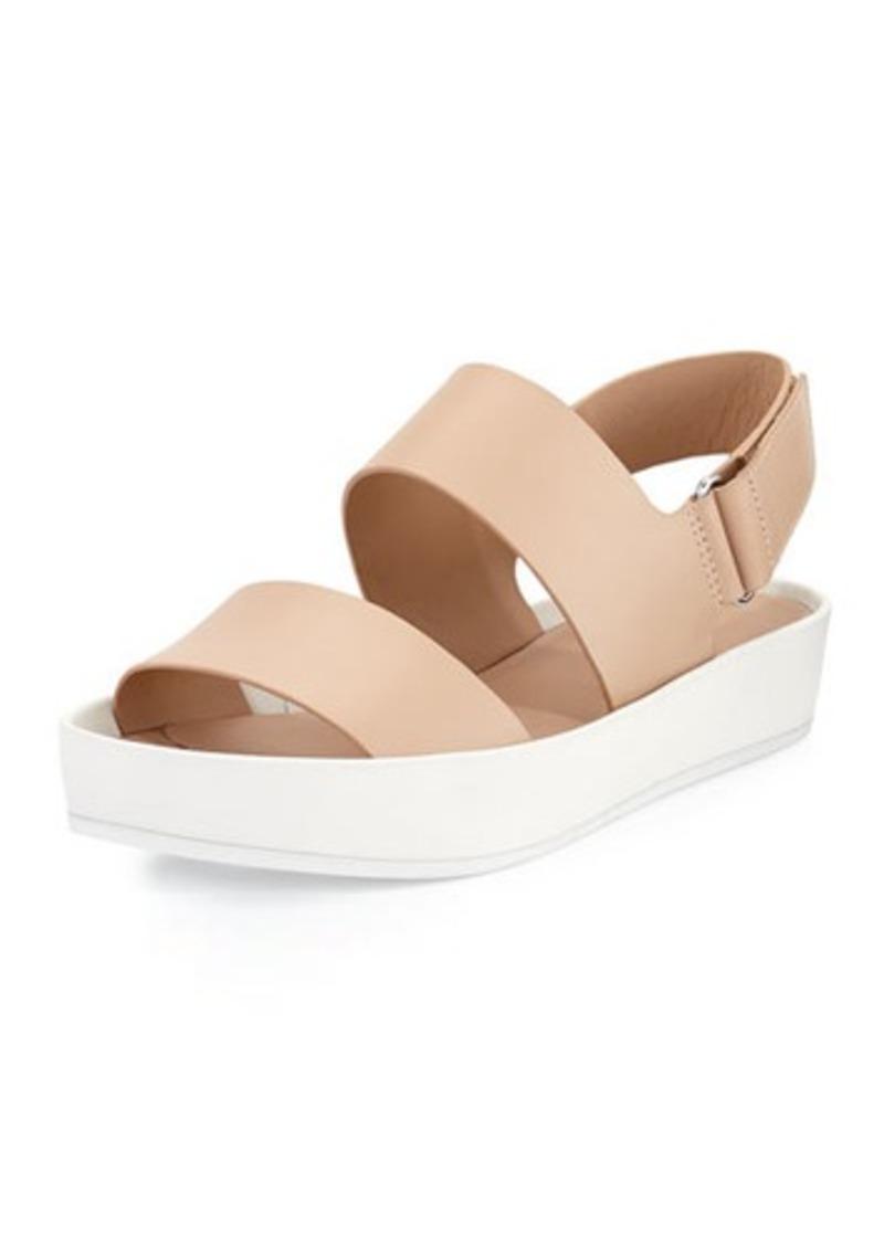 Vince Marett Leather Platform Sandal