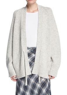 Vince Marled Knit Raglan Oversized Cardigan