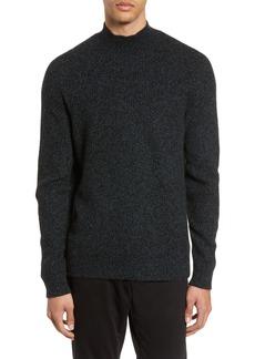 Vince Marled Mock Neck Cashmere Sweater