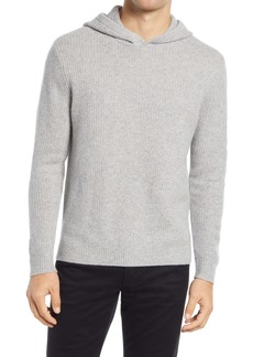 Vince Marled Stitch Cashmere Hoodie