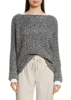 Vince Marled Wool Blend Sweater