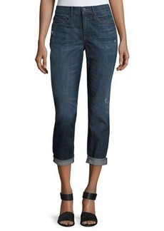 Vince Mason Rolled-Cuffs Relaxed Jeans