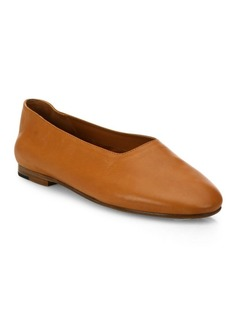 Maxwell Leather Ballet Flats