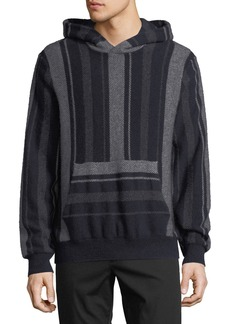 Vince Men's Baja Striped Pullover Hoodie