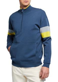 Vince Men's Colorblock Half-Zip Sweatshirt