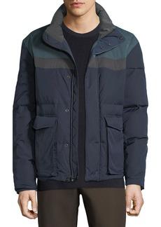 Vince Men's Colorblock Puffer Coat