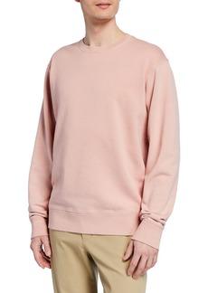 Vince Men's Crewneck Long-Sleeve Cotton Sweatshirt