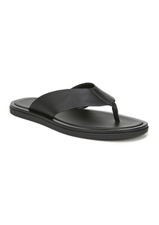 Vince Men's Dean Leather Thong Sandal