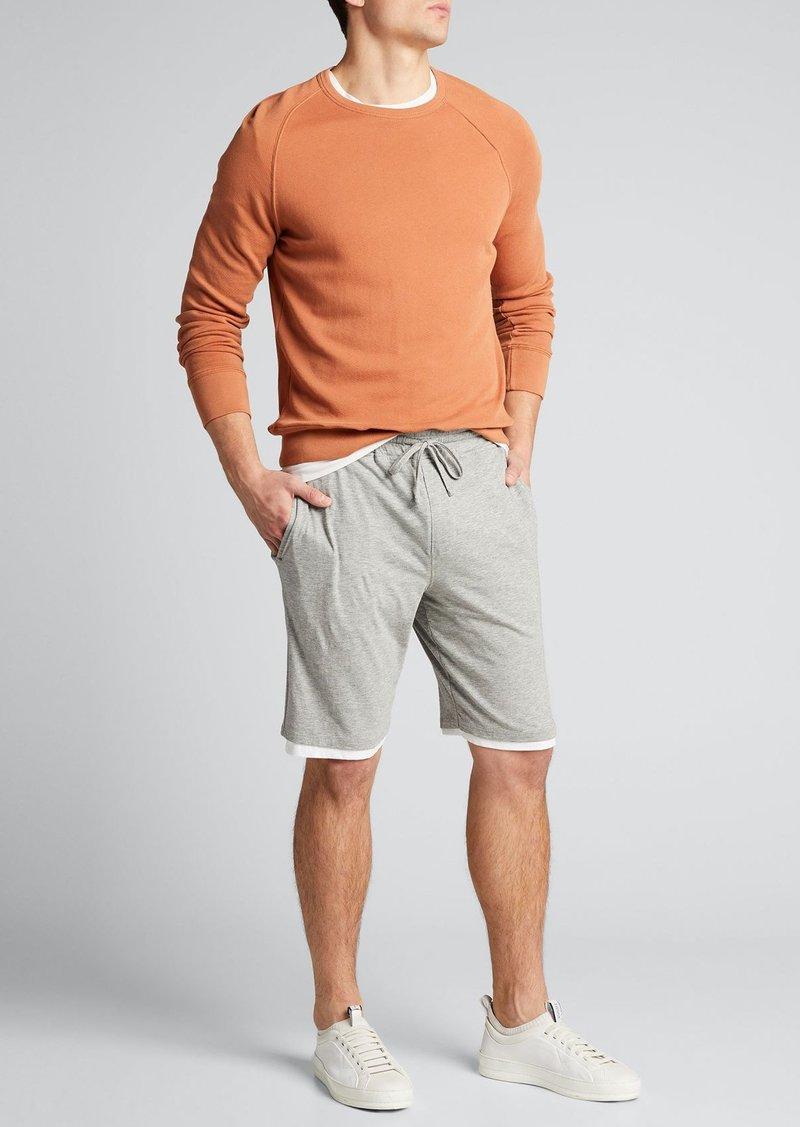 Vince Men's Double-Layer Drawstring Shorts
