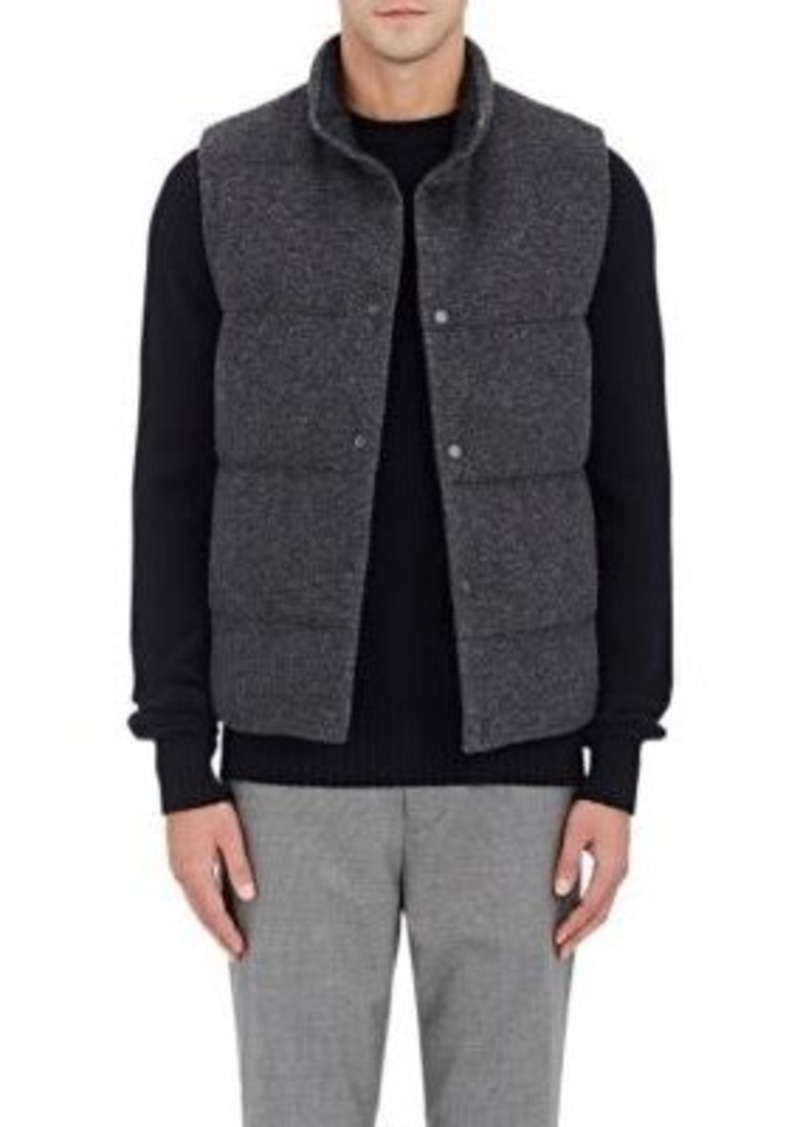 Vince. Men's Down Channel-Quilted Vest
