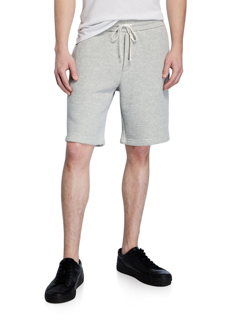 Vince Men's Drawstring Cotton Sweat Shorts