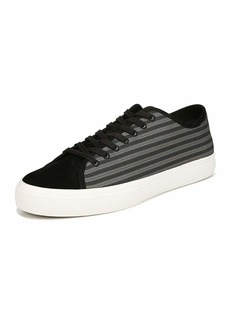 Vince Men's Farrell-3 Canvas/Leather Low-Top Sneakers
