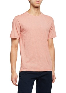 Vince Men's Feeder Stripe Crewneck T-Shirt