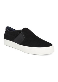 Vince Men's Fenton Slip-On Perforated Suede Sneakers