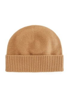 Vince Men's Fold-Cuff Cashmere Beanie Hat